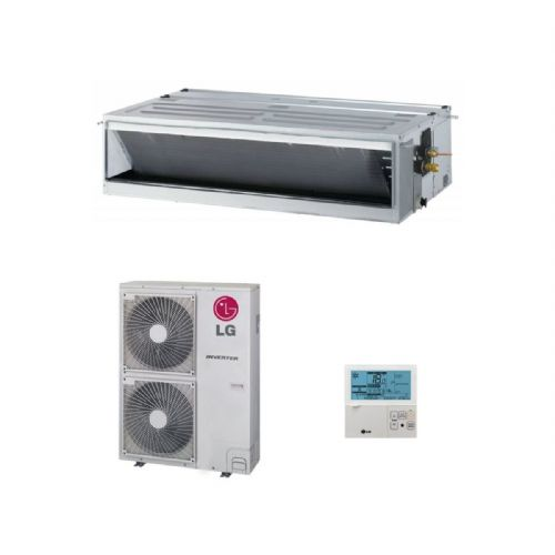 LG Air Conditioning UM42N24 Concealed Ducted Heat Pump 12.5Kw/42000Btu Standard Inverter 240V/415V~50Hz